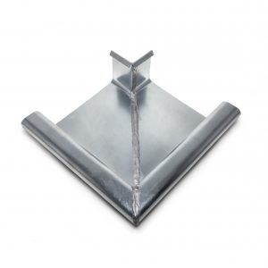 ZINC MITERS FOR ROUND AND SQUARE GUTTERS