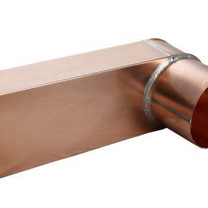 Copper eave box