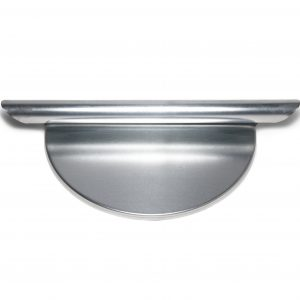 ZINC END CAPS FOR SQUARE AND ROUND GUTTERS